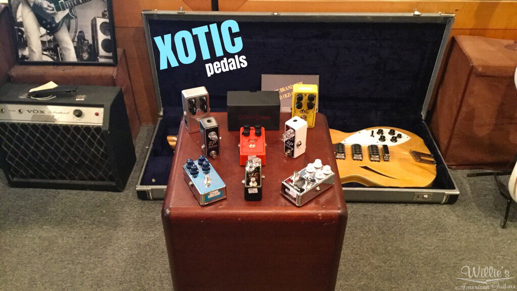 xotic effects pedals willie 39 s guitars. Black Bedroom Furniture Sets. Home Design Ideas